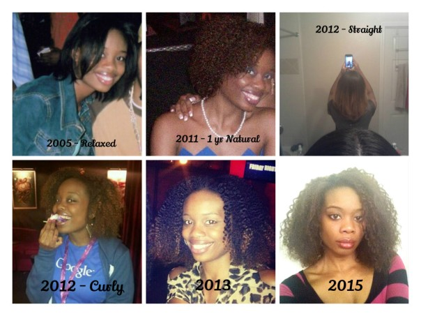 natural hair collage