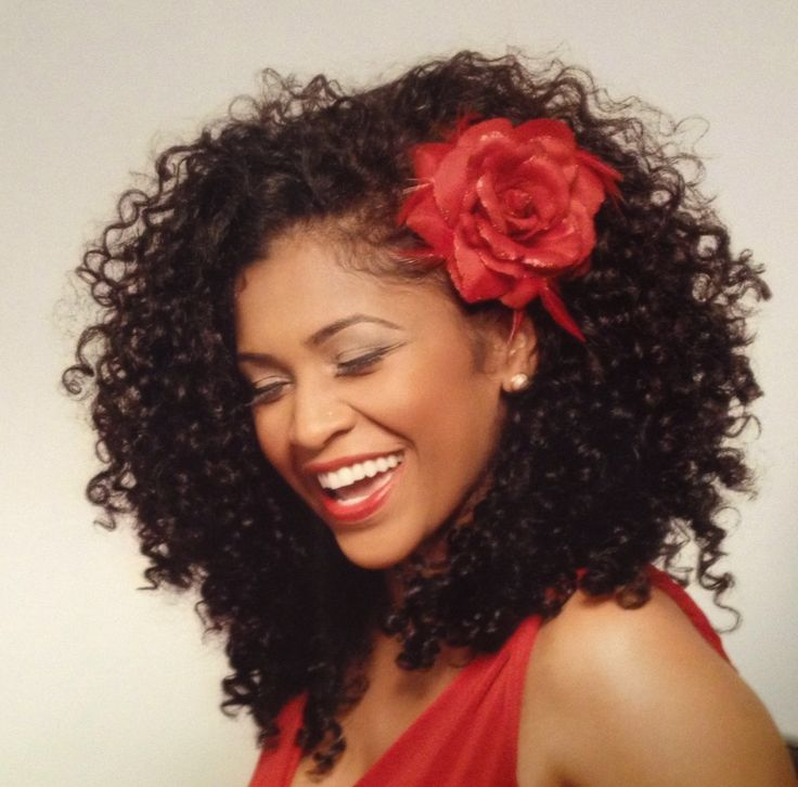 Swell 5 Naturally Romantic Hairstyles For Valentine39S Day Veggie Curls Short Hairstyles For Black Women Fulllsitofus
