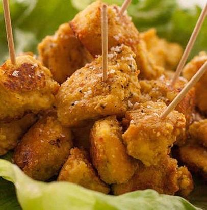 Tofu Popcorn Chicken Bites Veggie Curls